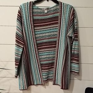 Myan Sweaters - Pretty patterned cardigan